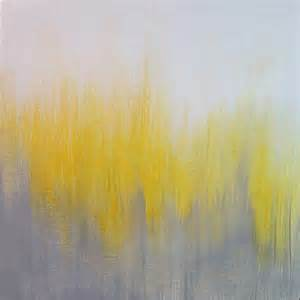 grey and yellow yellow gray ikat abstract painting i paintings by k e gilmore