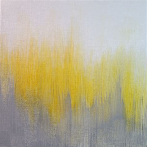yellow grey yellow gray ikat abstract painting i paintings by k e