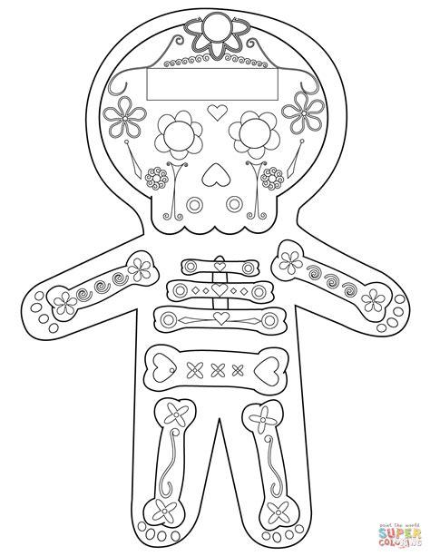 dia de los muertos skeleton coloring page dia de los muertos skeleton coloring page free printable