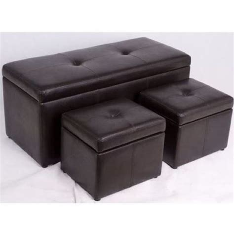 bench seat sofa showrooms new leather storage box seat bench stool chair sofa