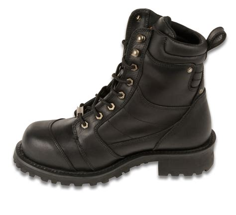 motorcycle boots online men s motorcycle motorbike boots pure leather 8 inch