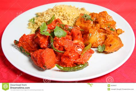 indian curry dinner indian curry food meal dinner royalty free stock