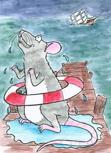 Rats From A Sinking Ship by Rat Leaving A Sinking Ship Wobbly Bloggy