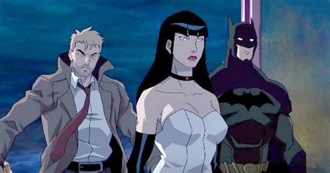 justice league animated film justice league dark preview teases new dc animated