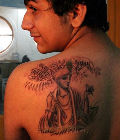 krishna tattoo lord krishna on back shop in india