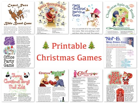 printable christmas games and activities printable christmas games for adults merry christmas and