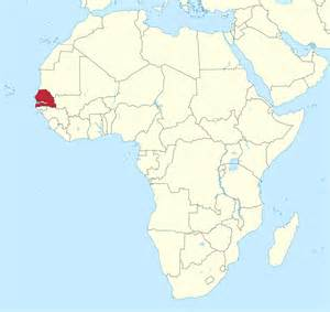 Senegal Africa Map by Dakar On African Map Bing Images