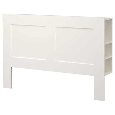 ikea white headboard brimnes headboard with storage compartment white