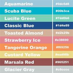 hex colors codes girly business cards hex code pantone color palette for