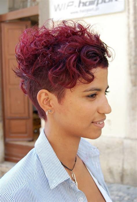 short sassy haircuts curly hair wow short sassy sexy a red hot cut hairstyles weekly