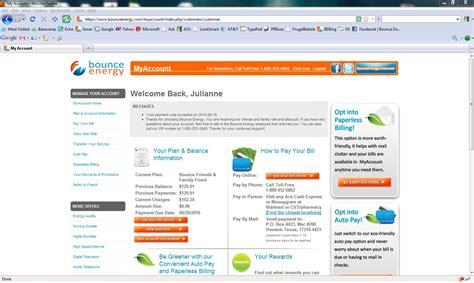 my account new bounce energy myaccount bounce energy blog