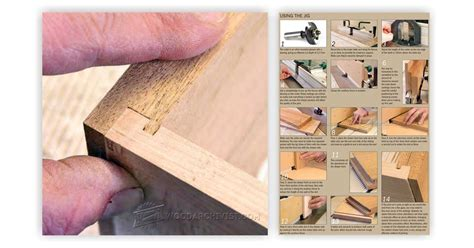 drawer lock joint vs dovetail drawer lock joint jig woodarchivist