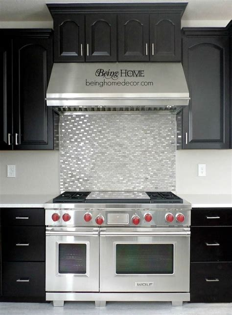 kitchen stove backsplash super simple diy tile backsplash