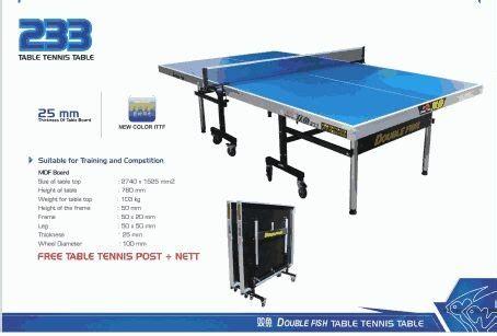 Tenis Meja Merk Olympus jual meja pingpong doublefish import import arsa sport