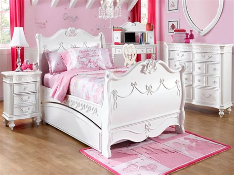 rooms   girls disney princess white pc twin sleigh bedroom girls bedroom bedroom designs