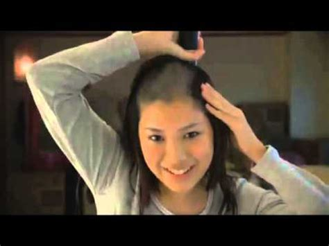 whos that asian bald headed in cadillac commercial japanese commercial girl shaves her head 少女は頭を剃る youtube