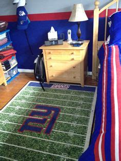 ny giants bedroom 10 quot ny giants hand painted letters bedroom pinterest dallas cowboys hands and