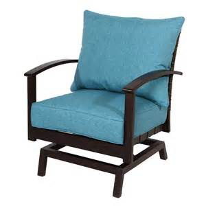 patio chair shop allen roth atworth 2 count brown wicker patio