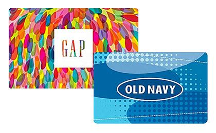 Gap Gift Card At Old Navy - hot 10 off 50 gap old navy gift cards simple coupon deals