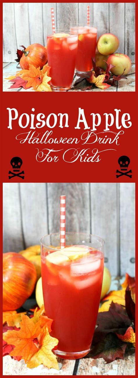 halloween drinks kid friendly poison apple halloween drink for kids homemade apple