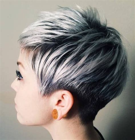 ash blonde pixie short pixie ash and balayage on pinterest