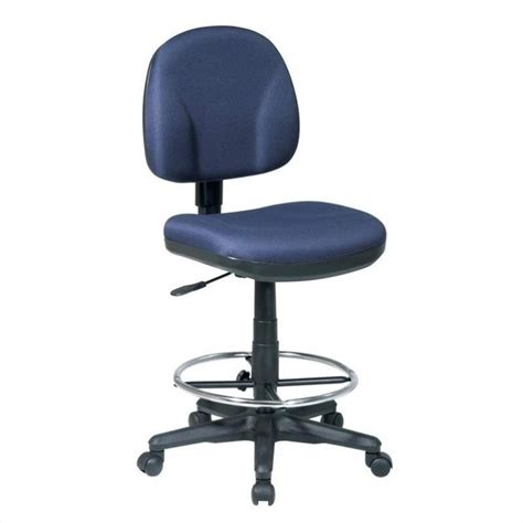 drafting chair with stool kit in navy dc630 225