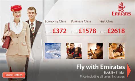 emirates promotion emirates worldwide flights sale