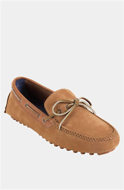 cole haan driving shoes cole haan air grant driving shoe in brown for adobe