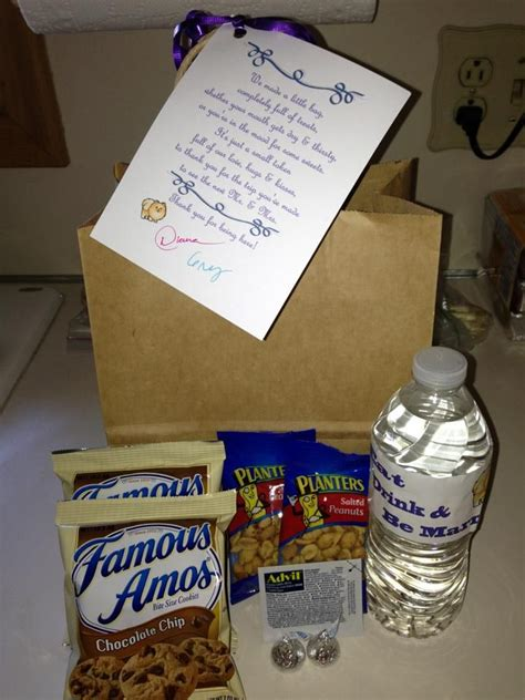 7 Treats For Guests by Best 25 Wedding Welcome Bags Ideas On Welcome
