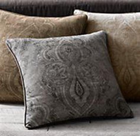 Restoration Hardware Throw Pillows by Velvet Medallion Pillows Restoration Hardware