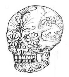 sugar skull coloring page sugar skull coloring book muerte