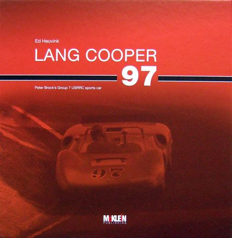 Car Types That Start With C by Lang Cooper 97 Brocks 7 Usrrc Sports Car