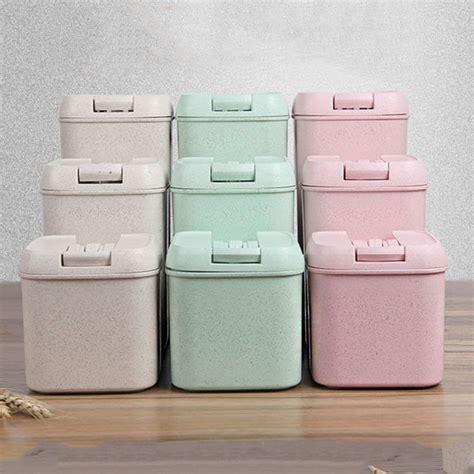 Promo 2 In 1 Multifunction Box Storage Box 555 Warna Ungual210 1 2 ml wheat straw food container storage box