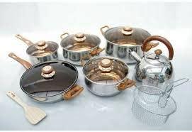 Panci Stock Pot Stainless Multiguna 3 Ukuran Free alat baking cetakan kue murah aneka cookware panci set oxone ox 90p ox 933 ox 966 ox