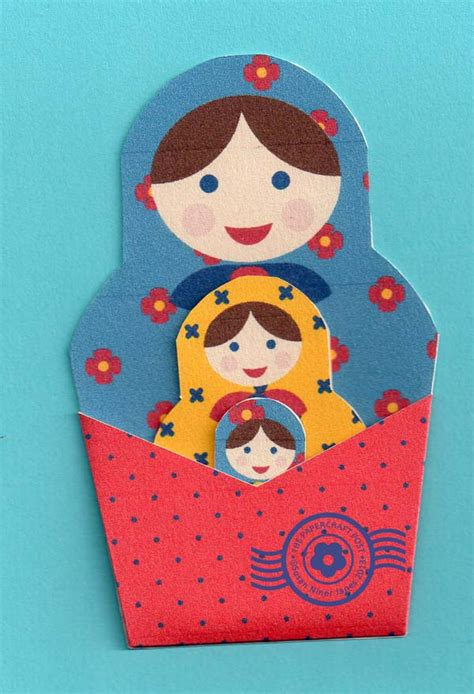 How To Make Papercraft Dolls - the papercraft post russian doll pockets print and cut