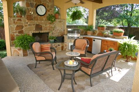 Outdoor Furniture San Antonio by Outdoor Gazebo Living Area In San Antonio
