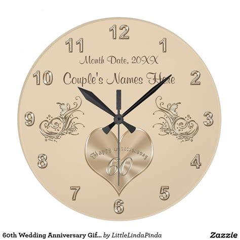 Wedding Anniversary Gift With Name by Best 25 60th Anniversary Gifts Ideas On