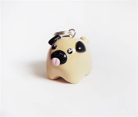 polymer clay pug cat express pug necklace store powered by storenvy