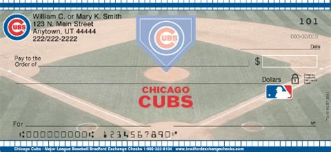 Background Check Chicago Chicago Cubs Mlb 174 Personal Checks