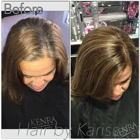 Caramel Hair Color Gray Coverage   haircut color highlights grey coverage honey