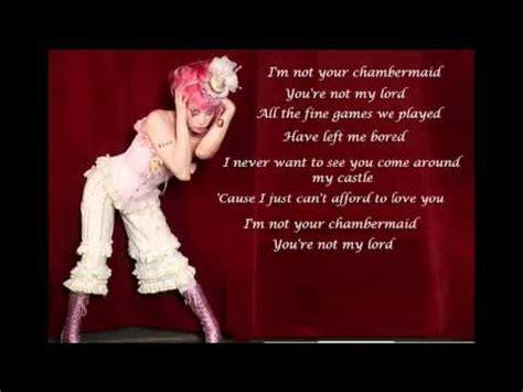 parov stelar chambermaid swing lyrics chambermaid videolike