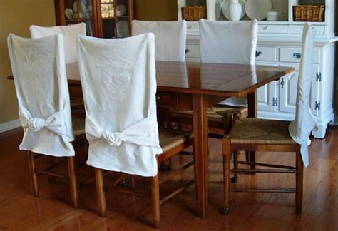 How To Make Simple Slipcovers For Dining Room Chairs In