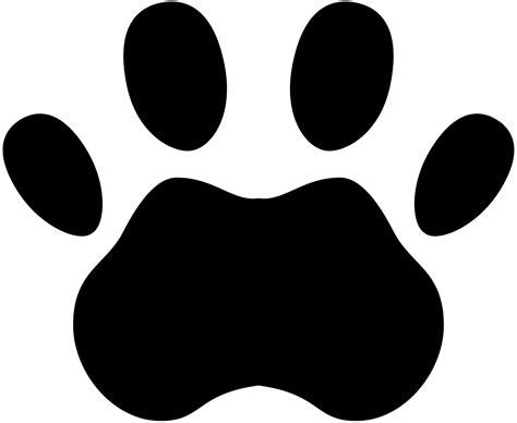 tigers paw print clipart best