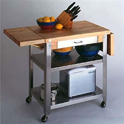 cutting board kitchen island john boos cuce50 serving cart with cutting board two 10