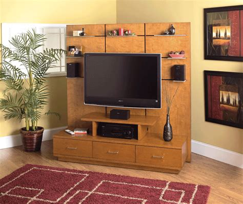 welton 5th avenue 55 inch tv stand with support wall home