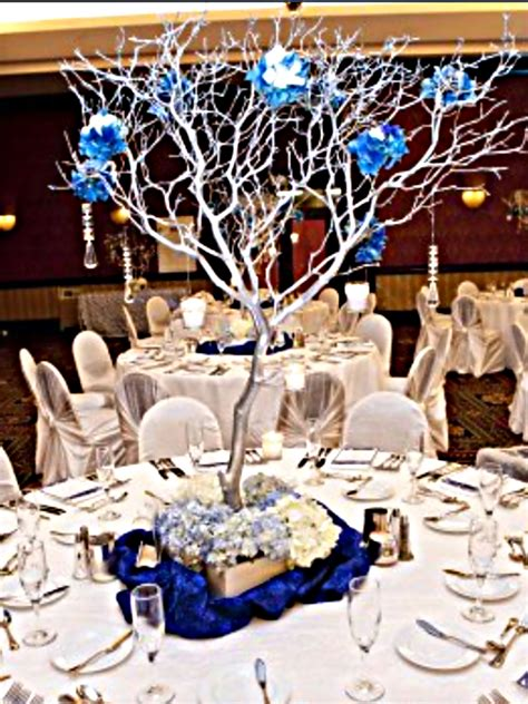 silver manzanita branch centerpieces weddingbee classifieds