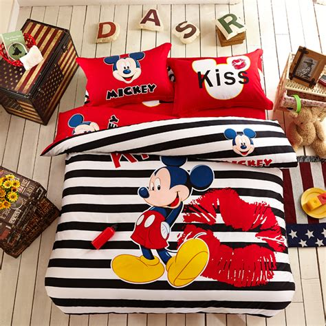 mickey mouse bed set mickey mouse comforter set twin and queen ebeddingsets