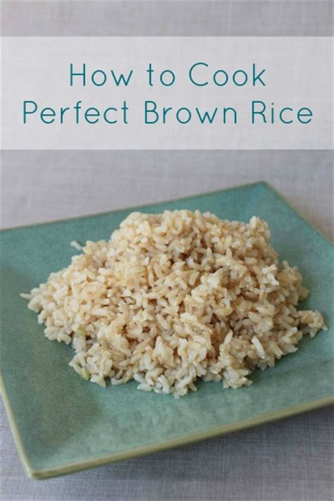all about rice tips terms and how to cook perfect brown rice frugal living nw