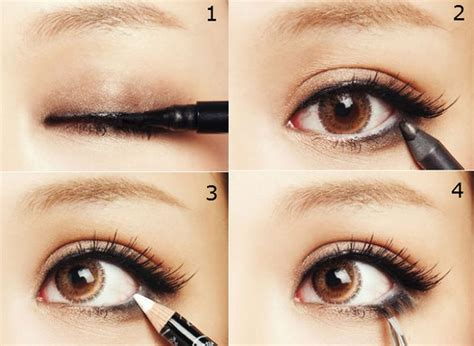 Cara Memakai Eye Liner how to apply pencil eyeliner without smudging make up by