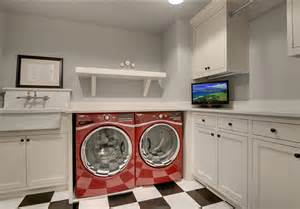 Laundry Room In Garage Decorating Ideas Inspiring Bungalow Family Home Home Bunch Interior Design Ideas